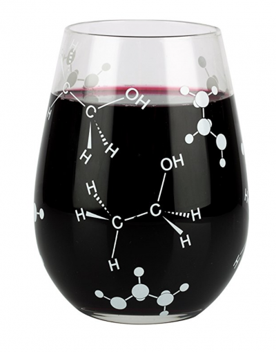 Chemistry Wine Glass
