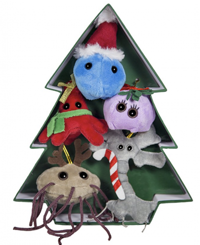 Giant Microbes Gift Tree Ornaments
